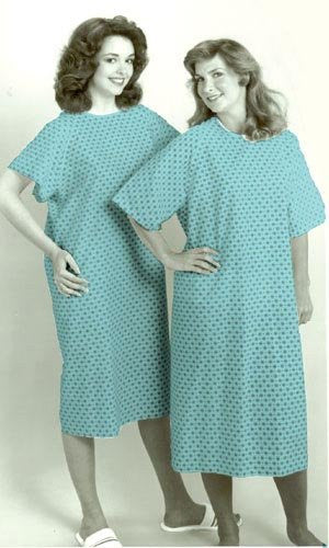 Reusable Adult Convalescent Gown Each
