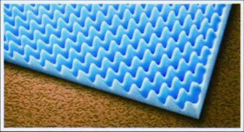 "Eggcrate Bed Pad 3""x33""x72"""
