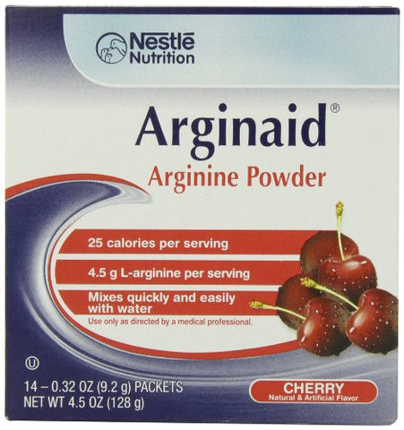 Arginaid, Cherry, 0.32-Ounce Packets (Pack of 56)