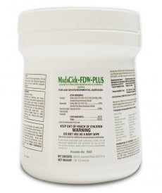 MadaCide-FDW-Plus Mada Wipes FDW / Wipes Tub/160