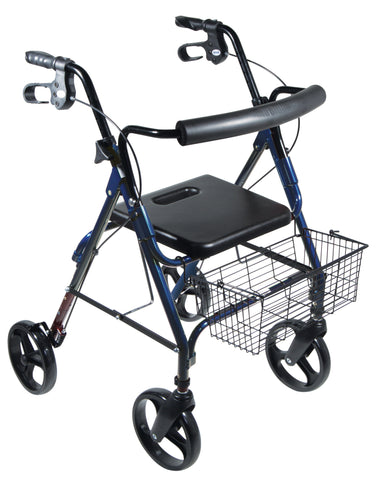 "D-Lite, Aluminum Rollator with Removable 8"" Casters"