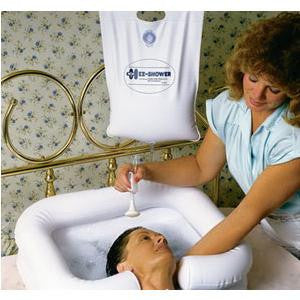 "EZ-Access EZ-Shower™ Bedside Shower 2-1/2 gal, 30"" Hose, with On/Off Switch"