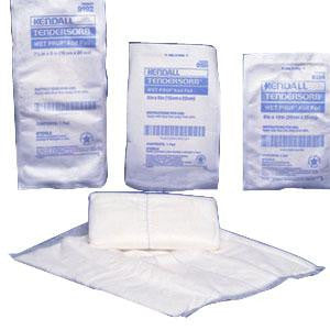 "Kendall Tensorb™ Wet-Pruf™ Sterile Abdominal ABD Pads, 8"" x 10""  Pack of 18"