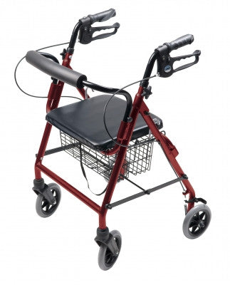 Lumex Walkabout Four-Wheel Hemi Rollator -14 lbs