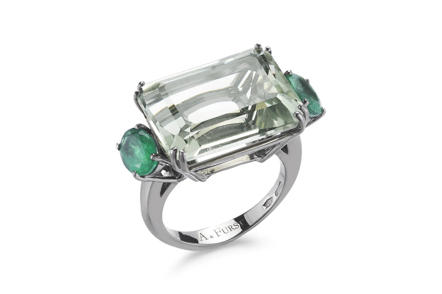 A-FURST-PARTY-COCKTAIL-RING-PRASIOLITE-EMERALDS-A1500NP3