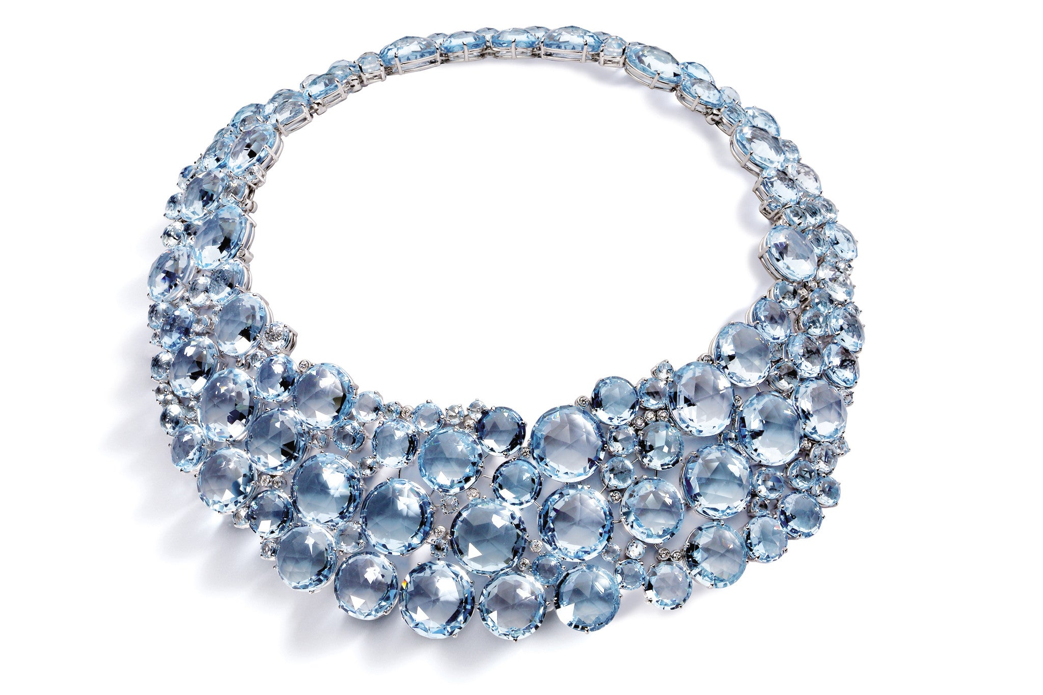 A-FUST-BOUQUET-BIB-NECKLACE-BLUE-TOPAZ-DIAMONDS-WHITE-GOLD