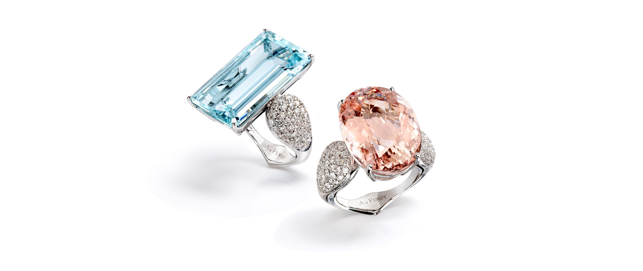 A-FURST-FLEUR-DE-LYS-COCKTAIL-RINGS-AQUAMARINE-MORGANITE-DIAMONDS-WHITE-GOLD