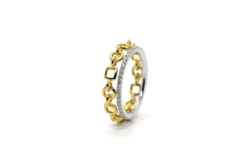 A-FURST-GAIA-ORO-BAND-RING-DIAMONDS-WHITE-YELLOW-GOLD-A1846GB1