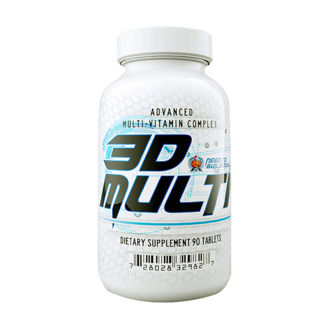 N2BM Nutrition  3D Multivitamin