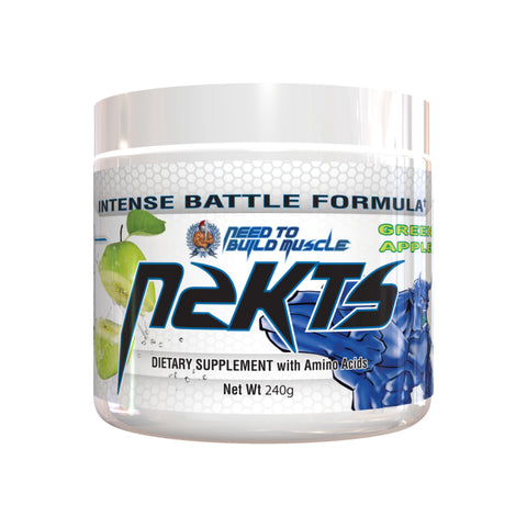 N2BM Nutrition N2KTS Green Apple