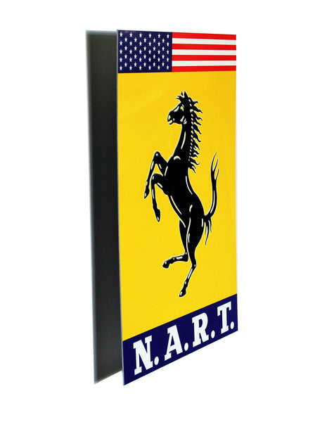Ferrari NART Emblem Metal Sign