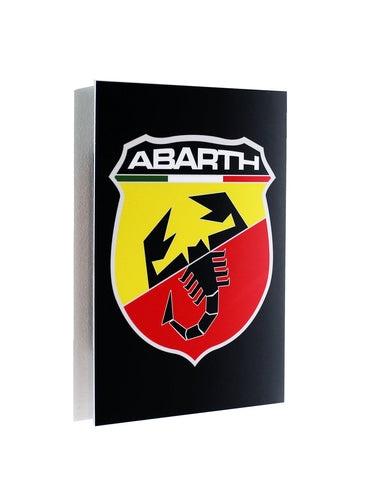 Abarth Emblem Metal Sign