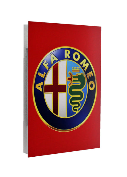 Alfa Romeo 1970-80's Emblem Metal Sign