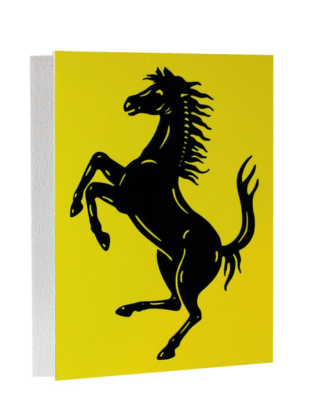 Ferrari Cavallino Metal Sign