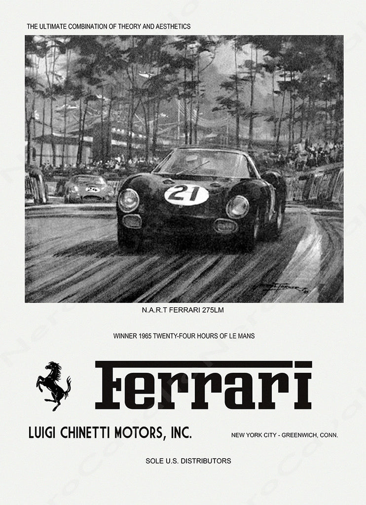 Chinetti Motors 1965 Advertisement