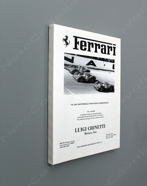 Chinetti Motors Newpaper Ad 1967 Daytona 24 hour
