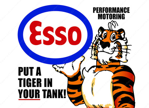 Esso Tiger in Your Tank
