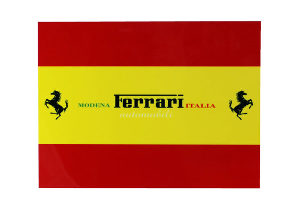 Ferrari Modena Italia Metal Sign