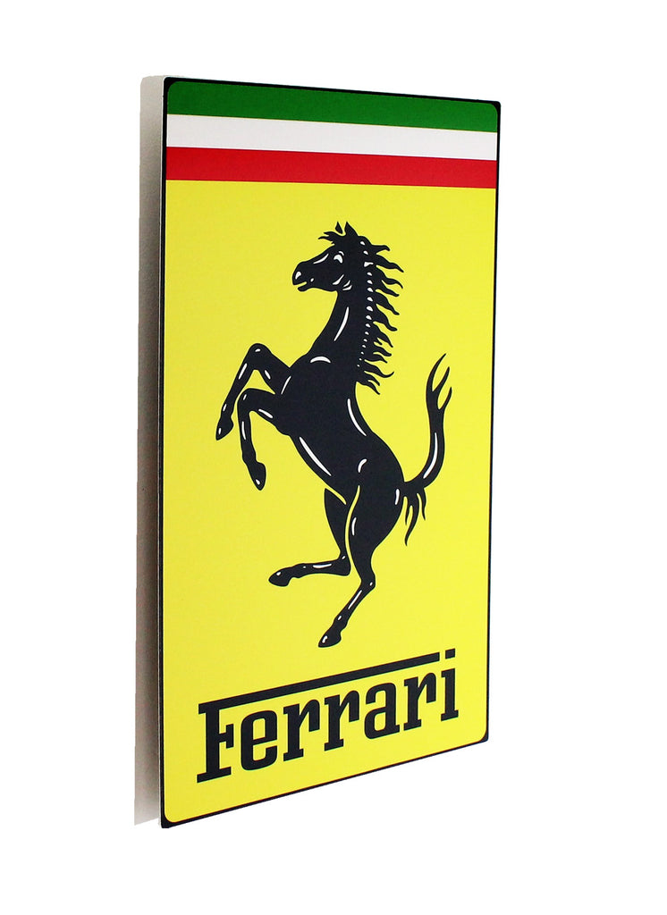 Ferrari Metal Sign, Nose Badge Style