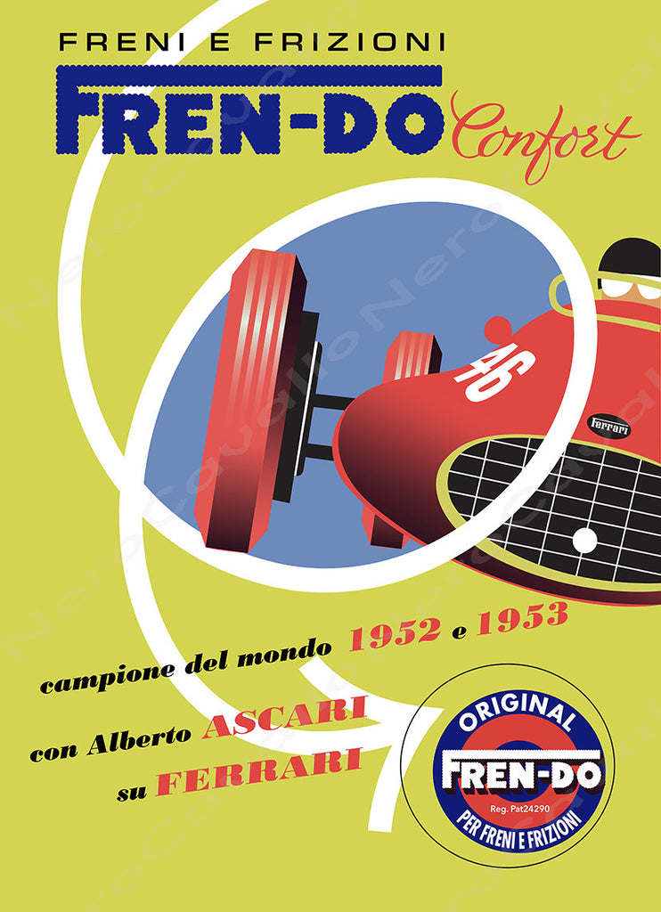Freni E Frizioni Advertisement Promotion