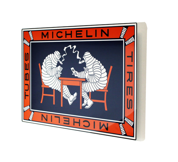 Michelin Vintage Bibendum, Metal Sign