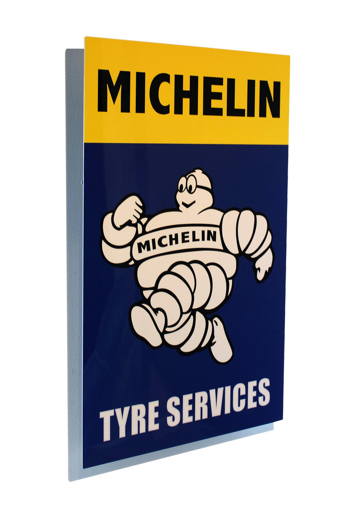 Michelin Tyre Services Metal Sign