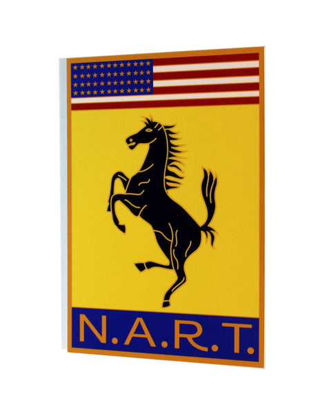 NART Badge Ferrari ,  Metal Sign