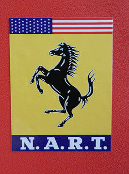 NART  Decal Ferrari 2-1