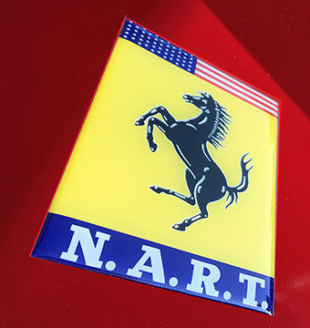 NART Wing 2 Domed Badge