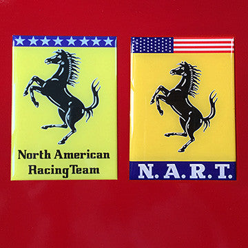 NART Wing Domed Badge Set