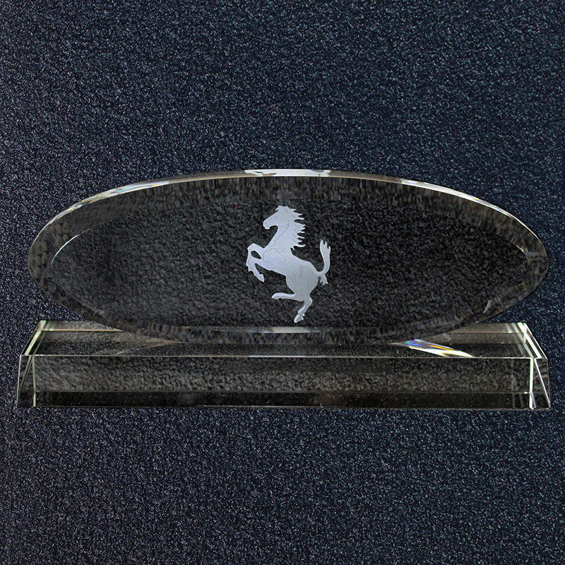 Ferrari Concours Award-Crystal Oval Grille 1