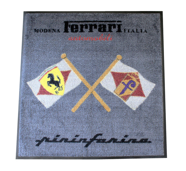 Ferrari -Pininfarina Premium Crossed Flags Floor Mat