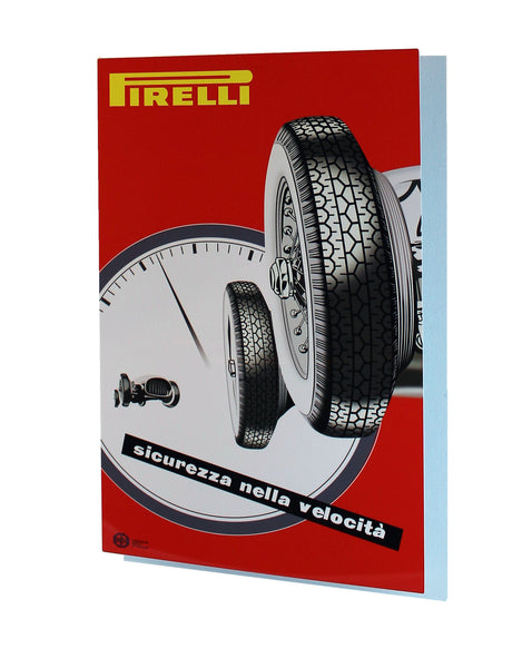 Pirelli Velocita Grand Prix Advertisement, Metal Sign