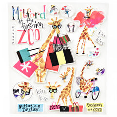 Mitford At The Fashion Zoo Stickers