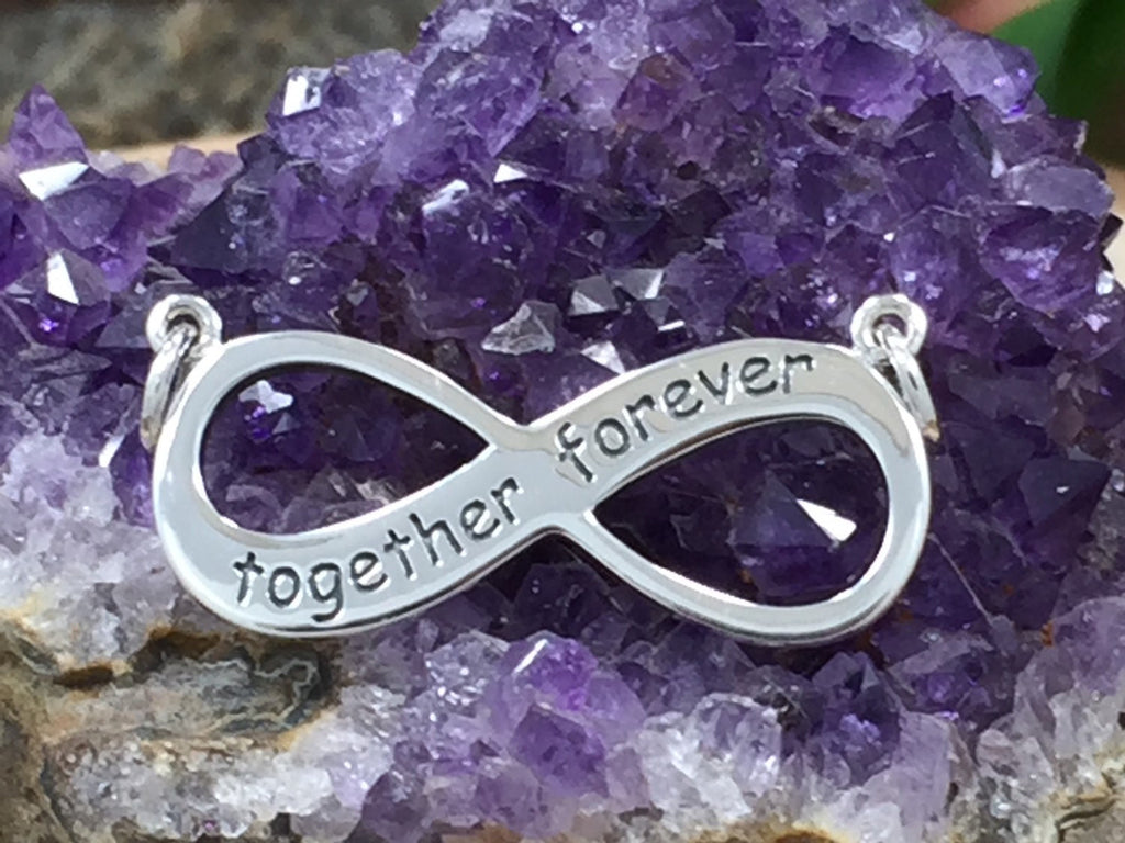 Together Forever Infinity Link, Infinity Festoon, Infinity Connector, Infinity Charm, Silver Infinity Charm, PS01339