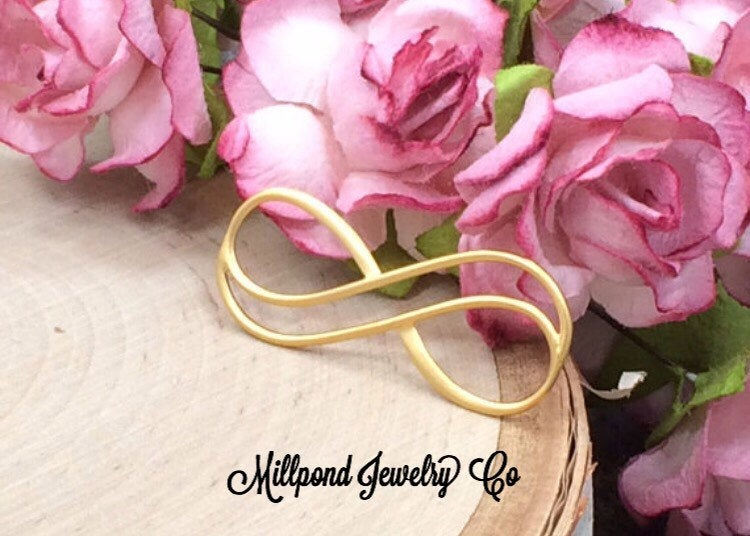 Infinity Link, Double Infinity Link, Infinity Connector, Infinity Charm, Eternity Link, Eternity Charm, Gold Charm, Large