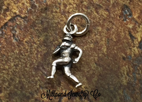 Football Player Charm, Football Player Pendant, Football Charm, Exercise Charm, Sports Charm, Football Fan Charm