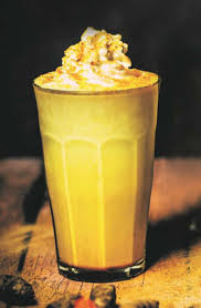 Golden Milk Frappe