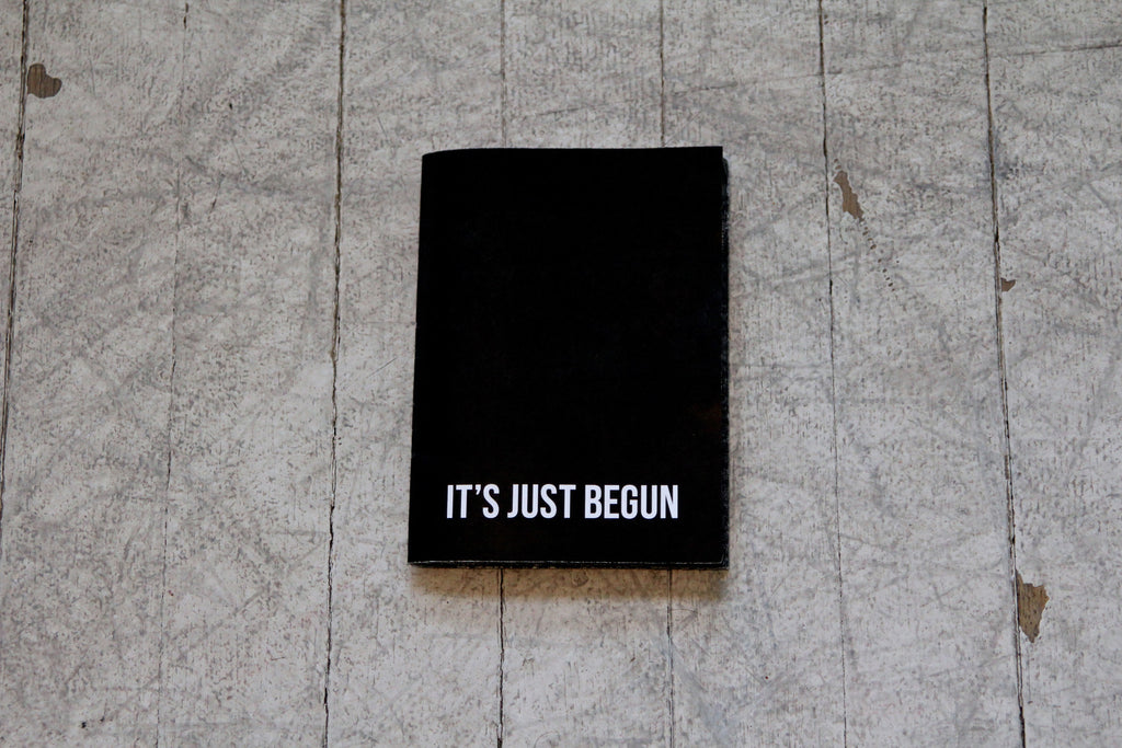 IT'S JUST BEGUN ZINE (2013)