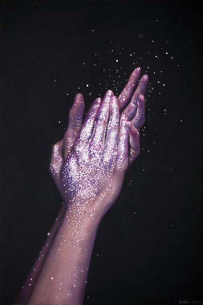 """Scatter"" and ""Shine"" by Dannika Sullivan"