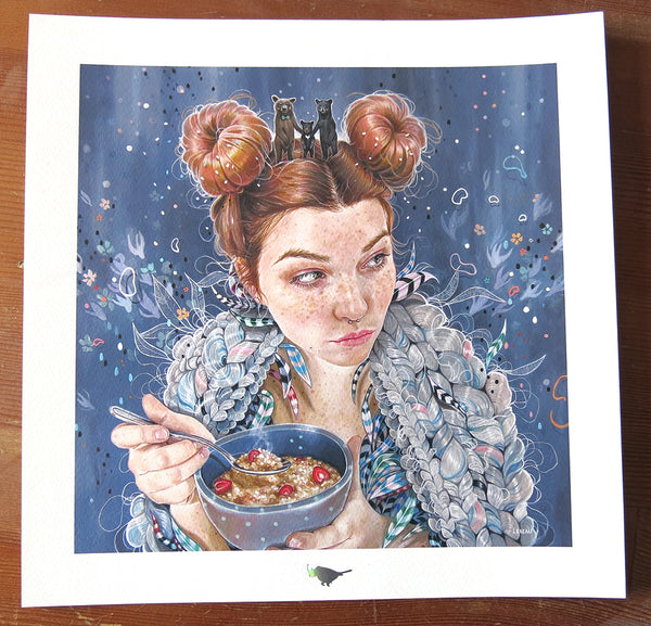 """Someone's Been Eating My Porridge"" by Edith Lebeau"