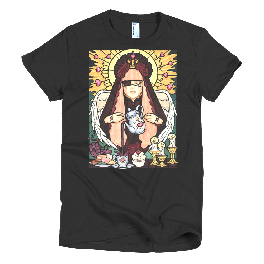 """Teatime Communion"" Women's T-Shirt"