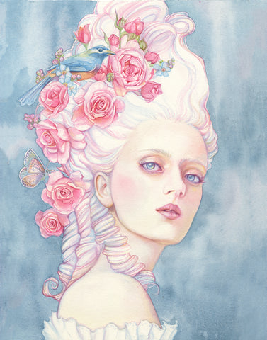 """Le Papillon Rose"" by Tracy Lewis"