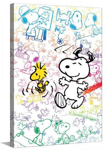 Colorful Snoopy