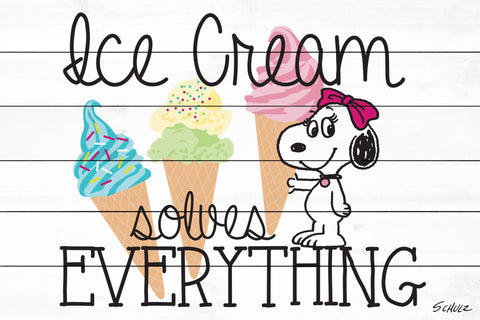 Belle Ice Cream Solves Everything