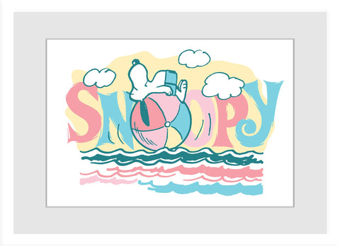 Beach Ball Snoopy