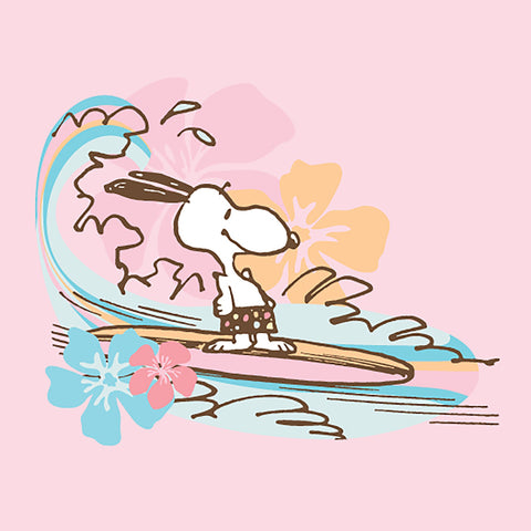 Snoopy Surfing