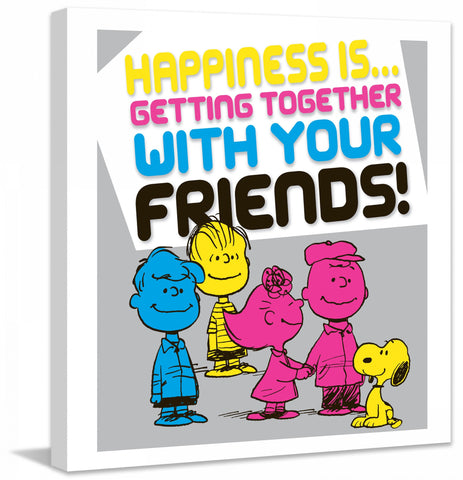Happiness Getting Together With Your Friends!