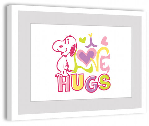 Hugs, Hearts, and Snoopy
