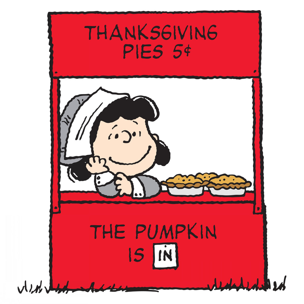 Lucy sells Thanksgiving pies